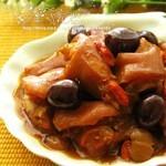桂圆红枣焖猪手