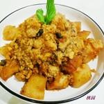 土豆焖鱼籽