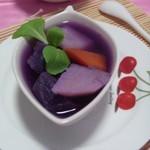 紫薯土豆汤