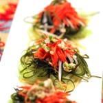 笋丝海带丝拌胡萝卜