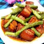 豆角红烧肉