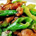 苦瓜煸鸭肉