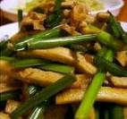 辣味豆干韭菜花